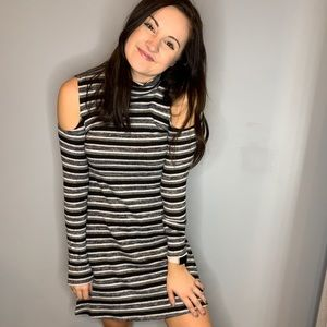 Striped Sweater Dress!
